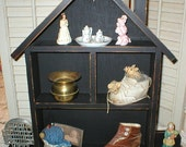 Primitive Wood Shelf Farmhouse Rustic
