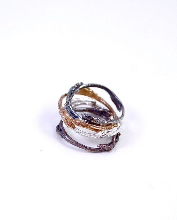 We Are One, Tree Branch Stacking Ring