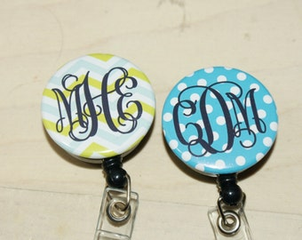 ID reel with MYLAR covering......Add a Monogram, patterns