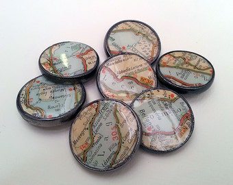 Italy Map Buttons