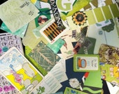 Green Journal/Collage Inspiration Kit
