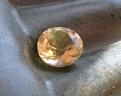 10mm Citrine Solitaire- Round Faceted Citrine Gemstone For Jewelry Making