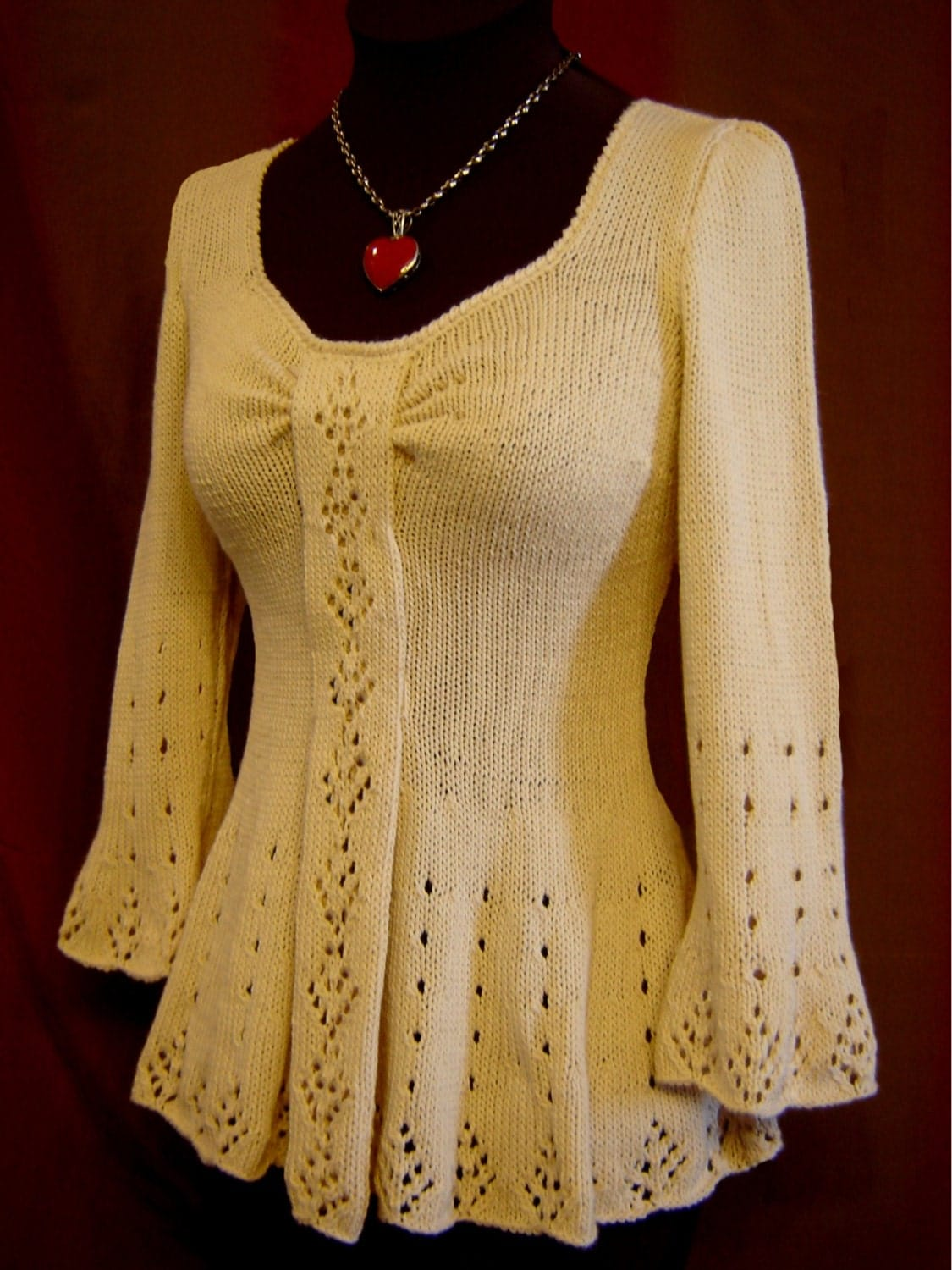 Evangeline Tunic Knitting Pattern Pdf