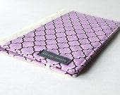 SALE - Portfolio Organizer - Purple Notepad Cover - Moleskine Cover