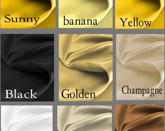 Custom Satin 50 x 108 Drapes Lined -  You pick the color