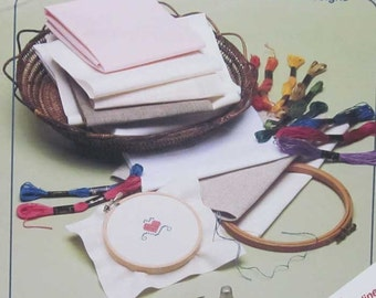 First Steps In Counted Cross Stitch Book by Rita Weiss