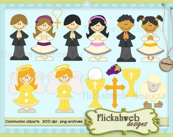 first communion digital cliparts printable clip art Personal and Commerical Use for Cards, Stationery and Paper Crafts printables