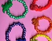 Dinosaurs Kandi Bracelets (Choice of Color)