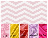 on sale!! PINK CHEVRON BABY Blanket / Minky print with soft silky satin......Comforting fabrics for baby / Great baby shower gift