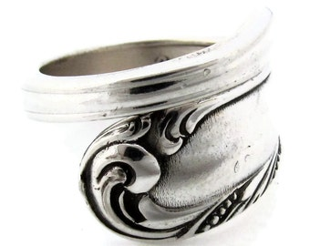Wrapped Spoon Ring Love Song Demitasse Choose your Size