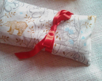 Unscented Flax Eye Pillow