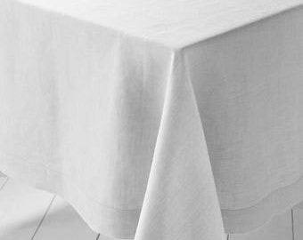 ON SALE Lithuanian Linen Table Cloth