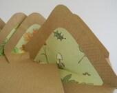 Green Life Handmade envelopes