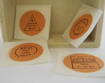 Postage Stamps  stickers/seals