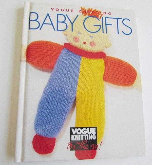 Vogue Knitting Book Baby Gifts Pattern Book Vogue Knitting