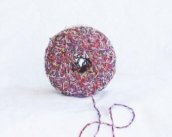 yarn, novelty yarn, Desert Flower 10, pink, purple, fuschia, F , destash
