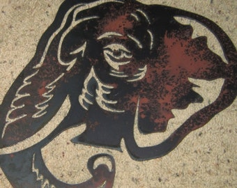 Elephant-Metal Art-Safari Art-Elephants