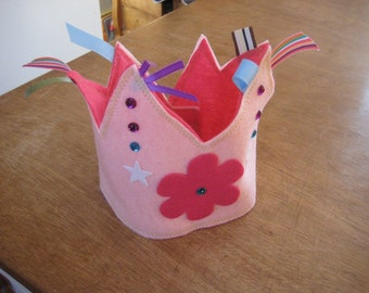 Felt Crown - Birthday, Celebration, Dress-up, Party