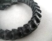 black snake bone bracelet macrame
