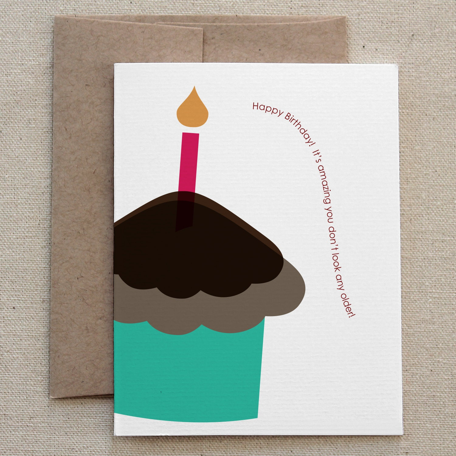 Funny Sarcastic Mean Birthday Card For Friend Man Or Woman