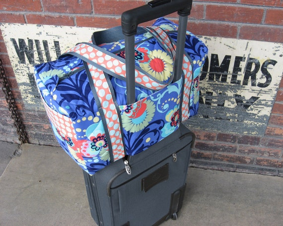 New Duffle Bag Pattern Carry On Sized Travel Duffle With