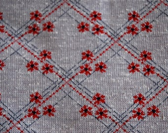 1960s fabric, unused vintage jersey, cool, modern design