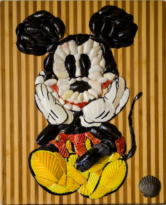Unique Handmade Wall Decor : Items similar to mickey mouse unique handmade wall