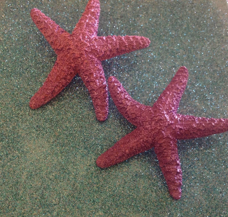 Starfish Pink pink starfish ocean Beach wedding tropical