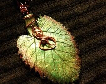 enchanted autumn leaf