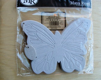Soar Butterfly Chipboard Album - Maya Road