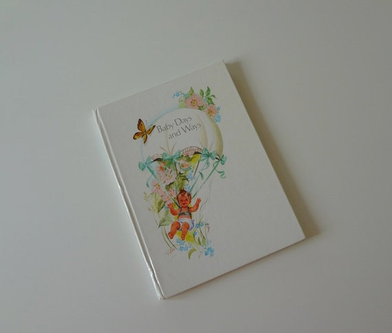 Vintage Baby Book Journal Baby Days and Ways London England - EnglishPreserves