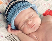 Baby Boy Hat Newborn Baby Boy Hat Newborn Baby Hat Light Blue Baby Hat Navy Blue Baby Hat Ecru Baby Boy Clothes Baby Boy Cap Baby Boy Gift