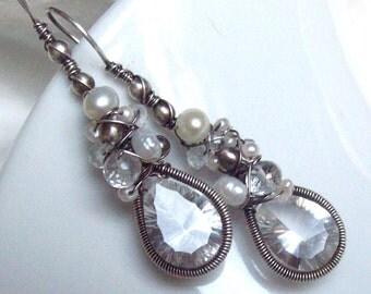Dark Aurora earrings
