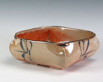 Dragonflies Slab Bowl
