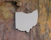 """10 Deburred 1 1/8"""" X 1 1/8""""  OHIO *Choose Your Blanks* Aluminum Brass Bronze Copper Nickel Silver Stamping Blanks"""