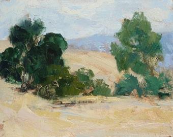 California Plein Air Oil Painting