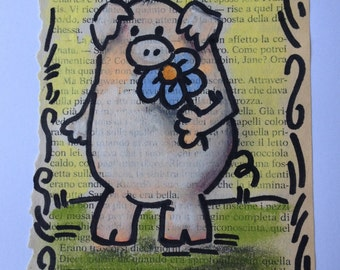 Flower diete  - Original Illustration - by bdbworld on Etsy