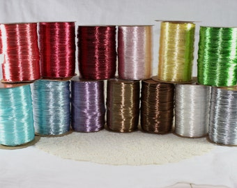 CLEARANCE - Pearlized Raffia Ribbon - Available in 11 Colors - 10 Yard Bundle