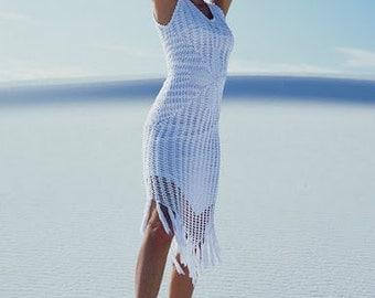 MADE TO ORDER  summer crochet dress  RI97