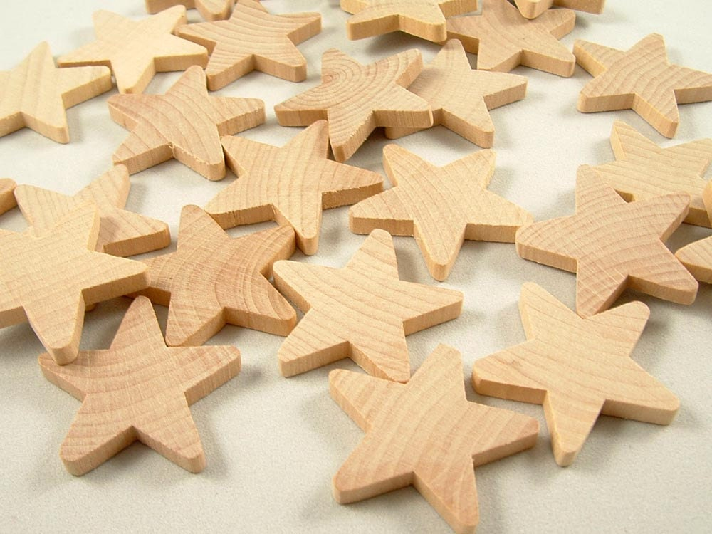 Paintable Wooden Christmas Ornaments