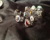 Name Your State Ring vintage enamel spoon emblem