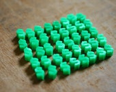 Vintage Game Pieces - Plastic Mini Dollar Signs (40)