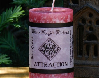 ATTRACTION Spell Candle 2x3