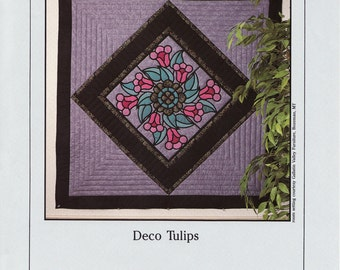 Deco Tulips Quilt Pattern by Spectral (D-056)