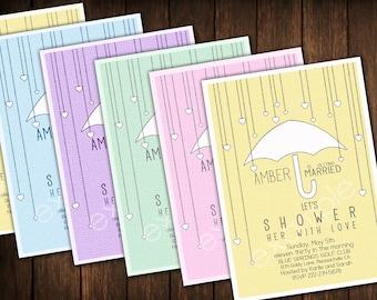 Bridal Shower Invitation- Yellow