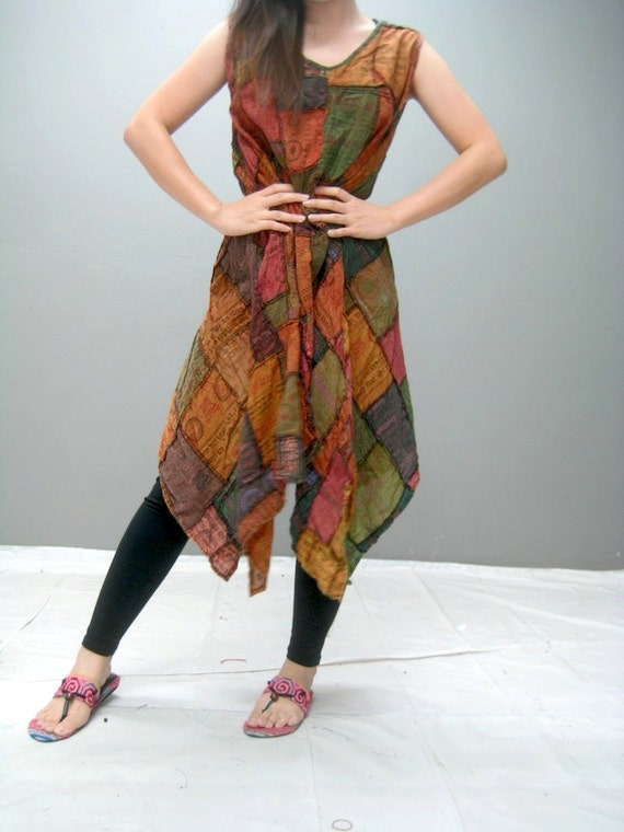 MANE patchwork dress (188.9)
