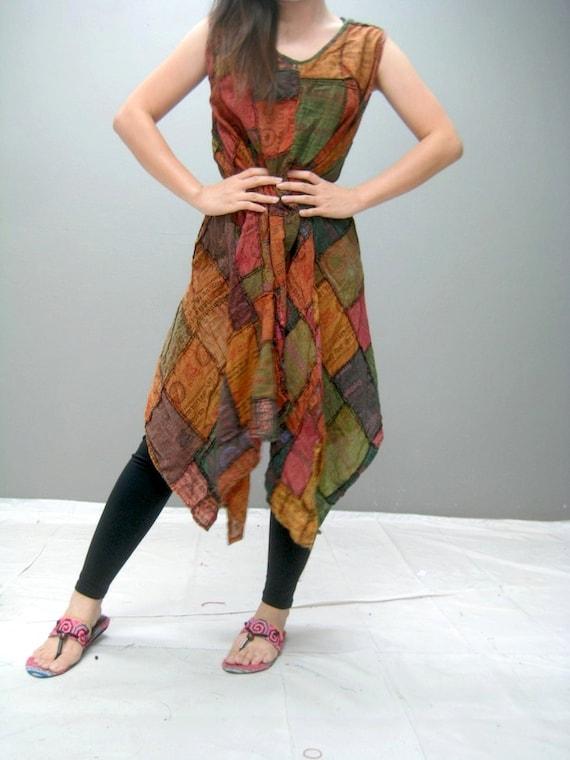 MANE patchwork dress (188.9)