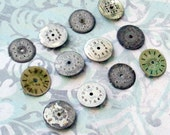 Dozen Tiny Vintage Watch Faces (WPF1055)