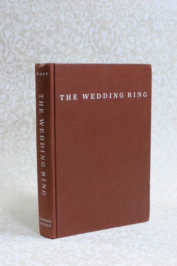 The Wedding Ring Wedding Guest Book - Ready to Ship