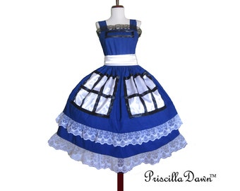 NEW TARDIS Box Office Tea Dress Dr Who Custom In Your Size handmade by PriscillaDawn.